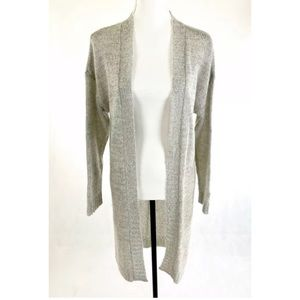 NWT VICTORIAS SECRET Gray Sequined Long Cardigan